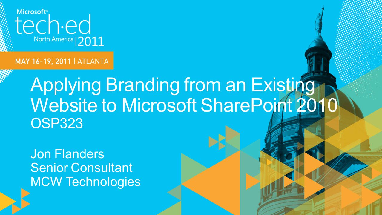 Learn the techniques to create a SharePoint 2010 web site from an existing branded web site
