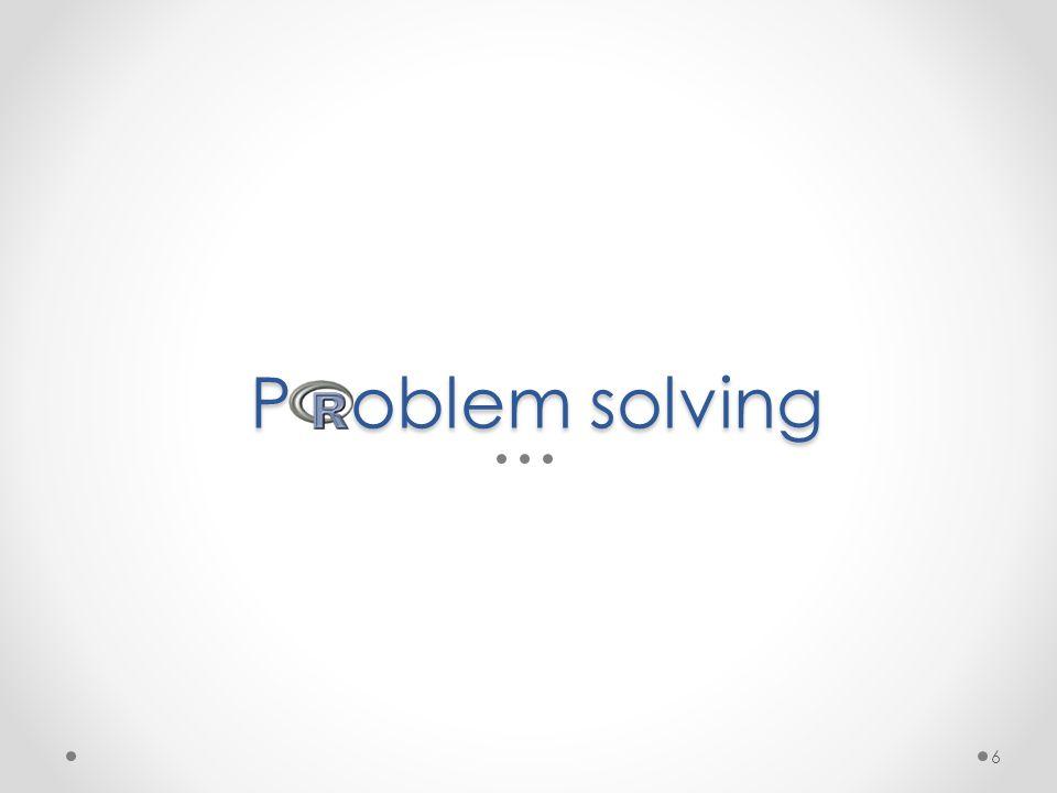 P oblem solving 6