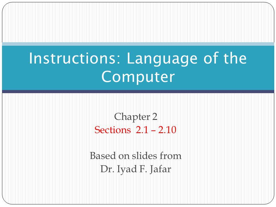 Unconditional Flow Control Instructions The Jump Instruction The MIPS ISA - Instructions 52 PC Instruction Address Field Shift left by 2 = 26 bits 28 bits 4 bits32 bits