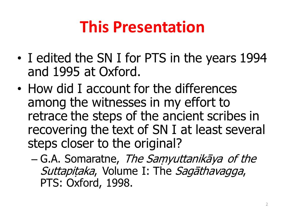 This Presentation I edited the SN I for PTS in the years 1994 and 1995 at Oxford.