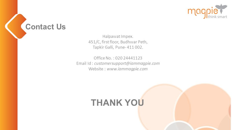 Contact Us Halpawat Impex. 451/C, first floor, Budhwar Peth, Tapkir Galli, Pune- 411 002.