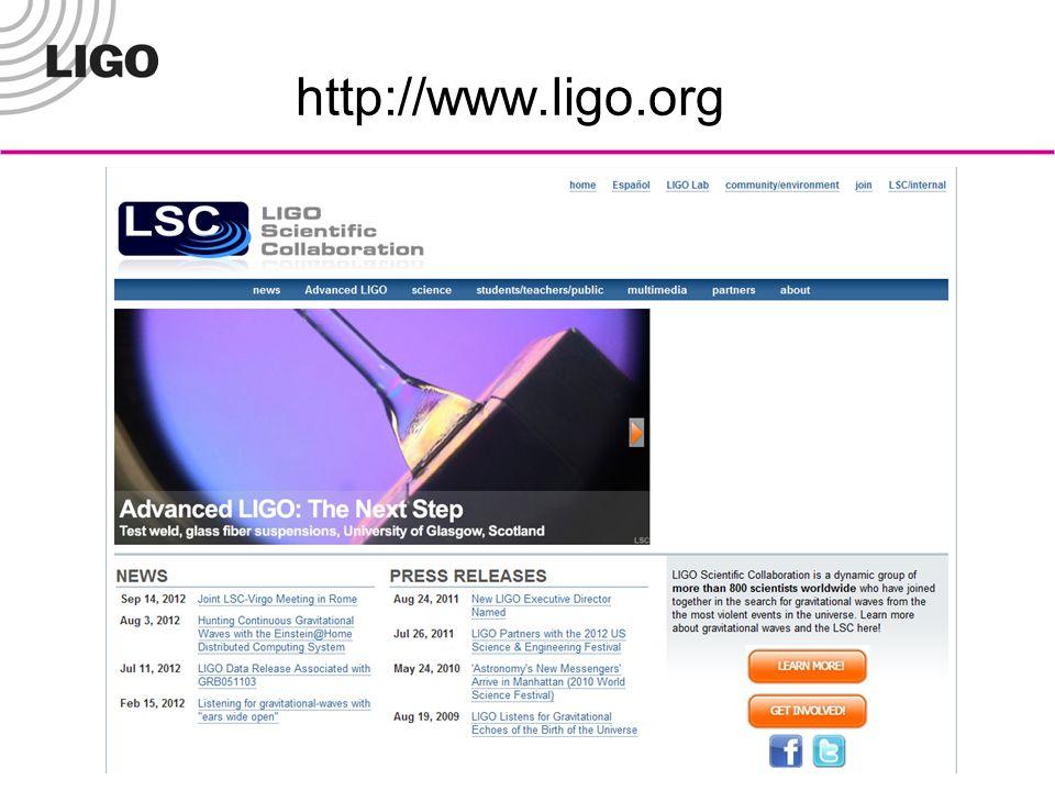 http://www.ligo.org
