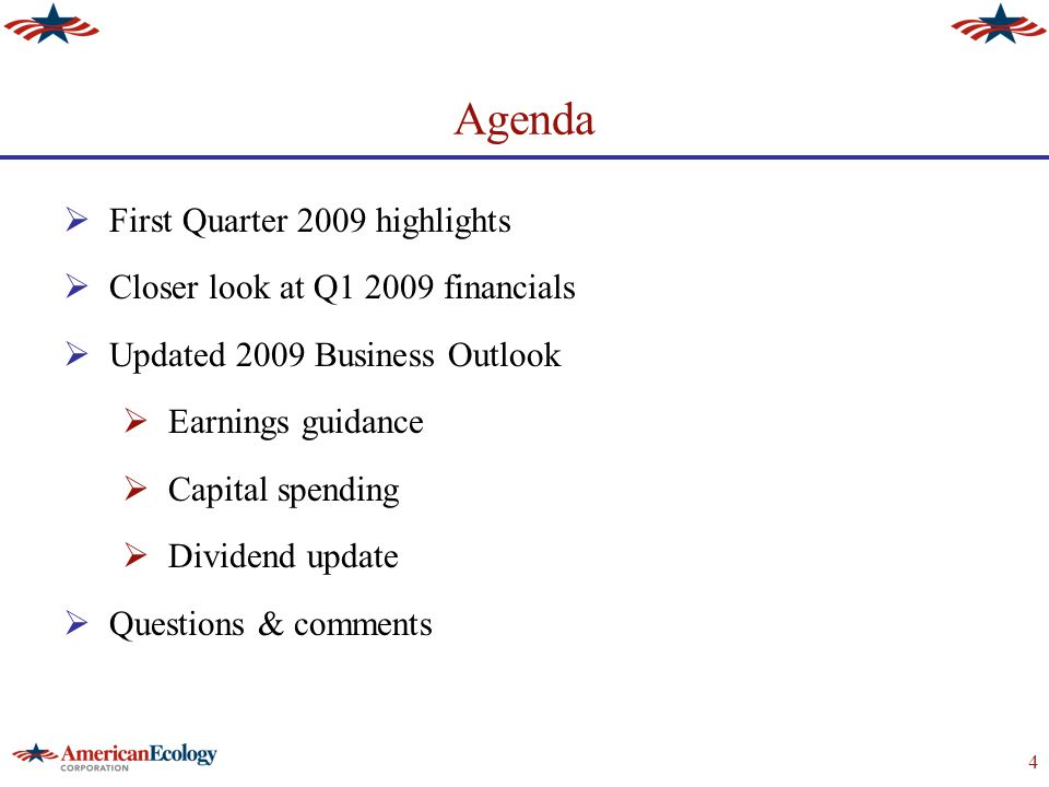 5 Q1 2009 Overview  Revenue $35 million Q109, down from $46 million Q1'08  Economic downturn adversely affected financial results  Treatment & disposal revenue down 13%  Transportation revenue down 37%  Texas thermal desorption contributed $2.8 million of incremental revenue  Recurring base business down 5%  Event business down 19% –Government & private industry shipments both down