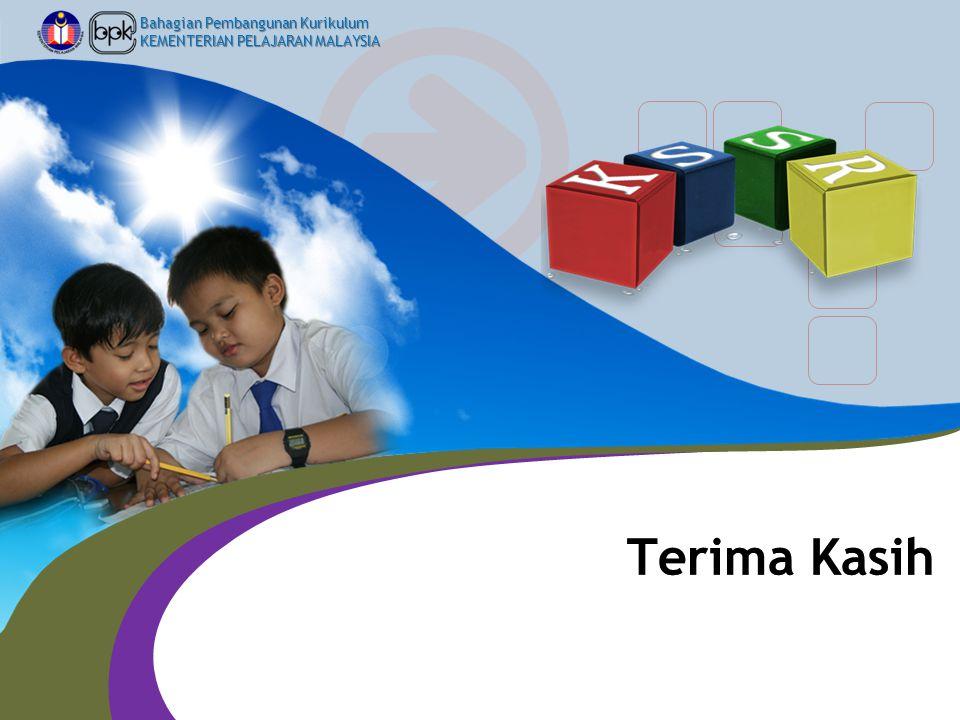 Bahagian Pembangunan Kurikulum KEMENTERIAN PELAJARAN MALAYSIA