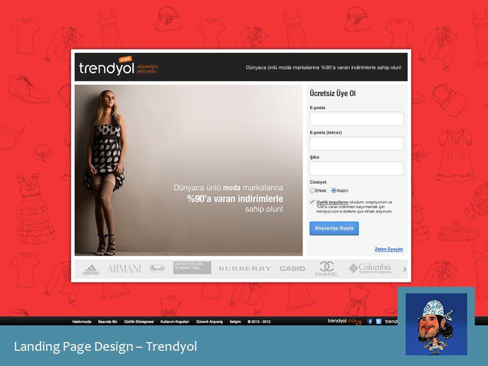 Landing Page Design – Trendyol