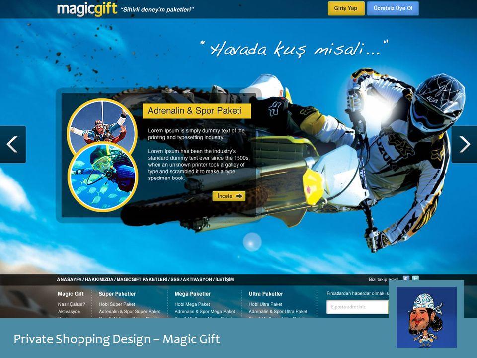 Private Shopping Design – Magic Gift