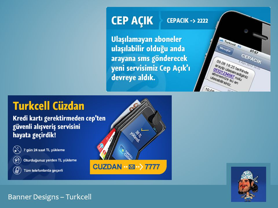 Banner Designs – Turkcell