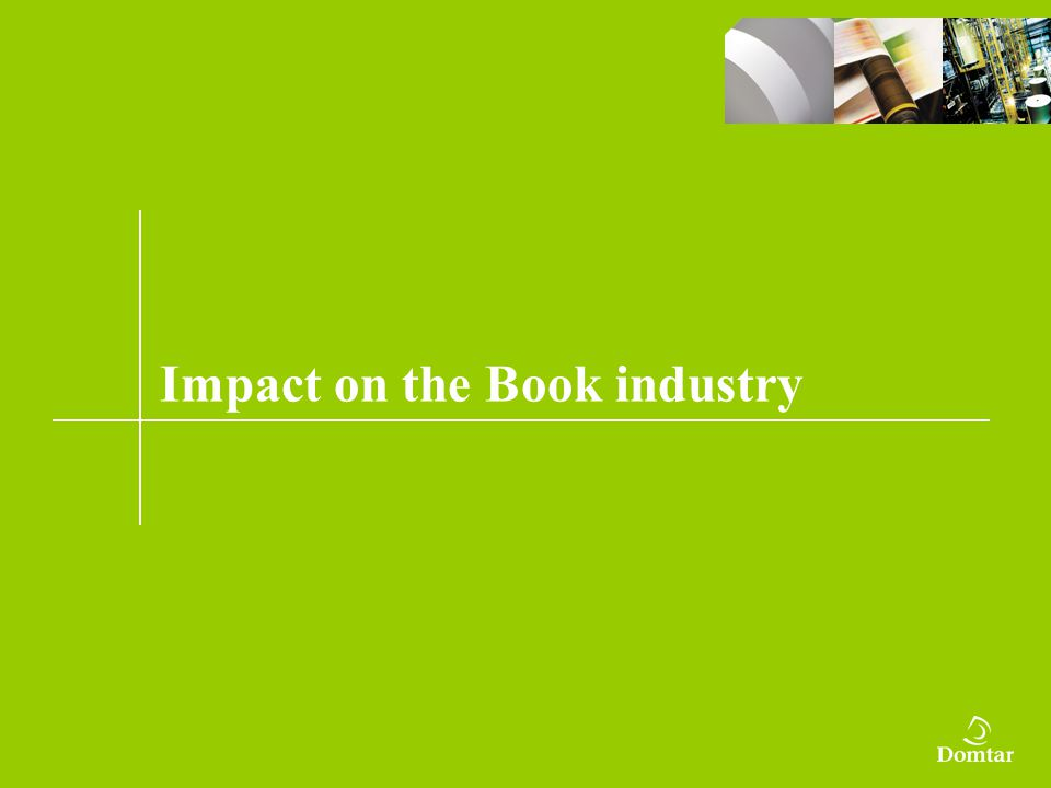 Impact on the Book industry
