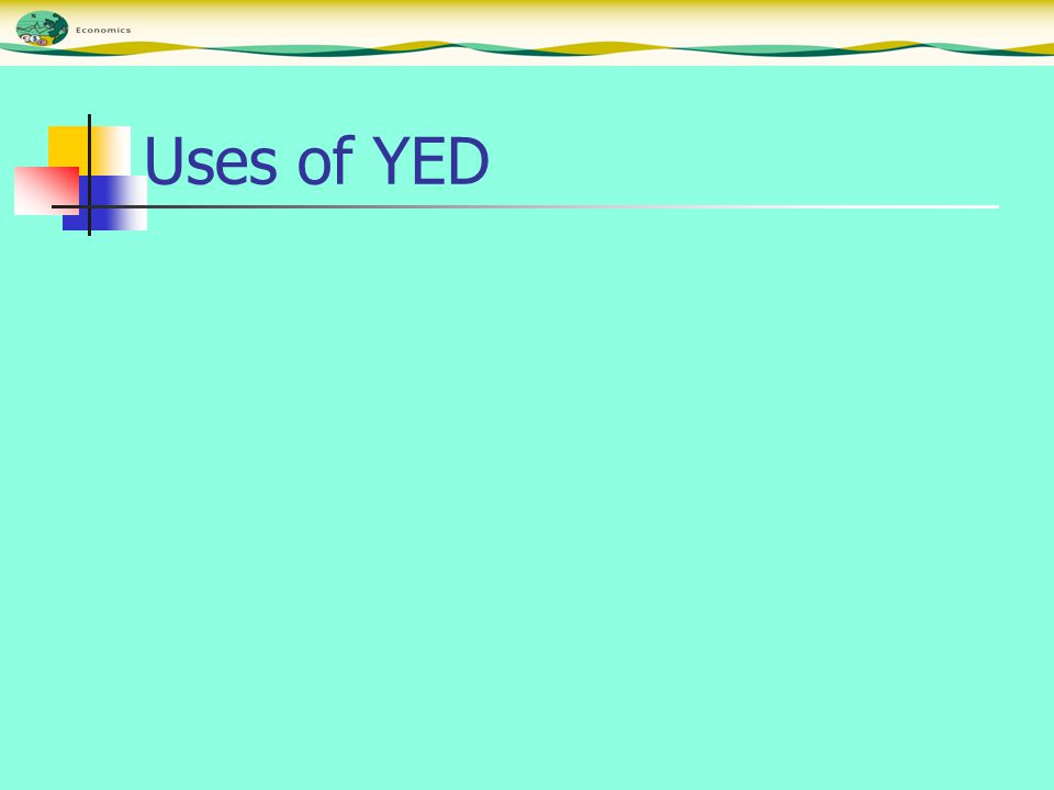 Uses of YED