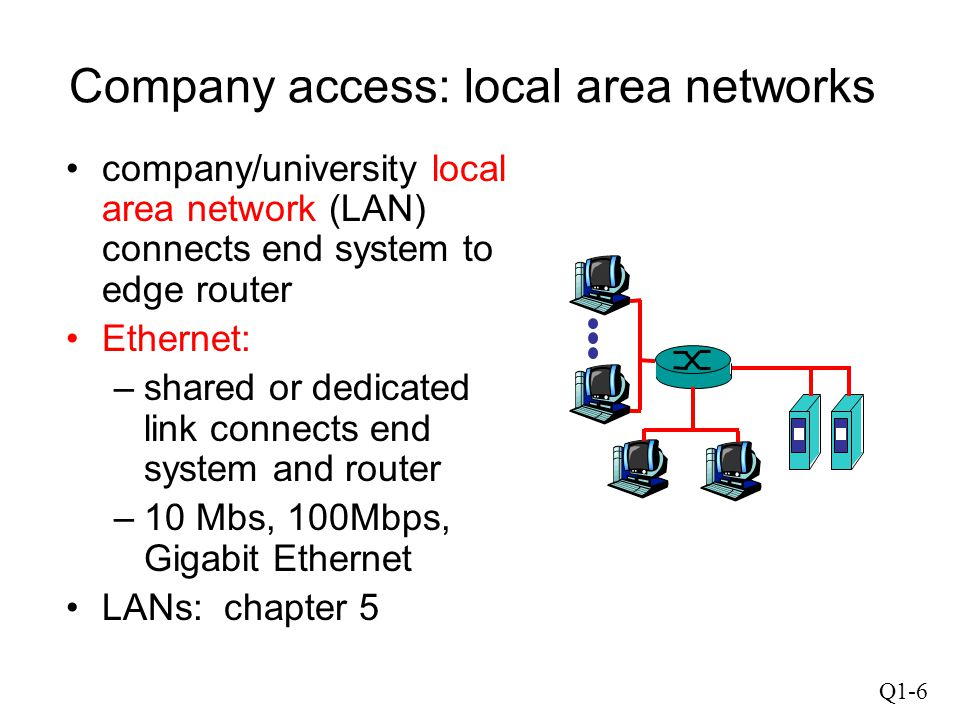 Q1-17 Creating a network app Write programs that –run on different end systems and –communicate over a network.