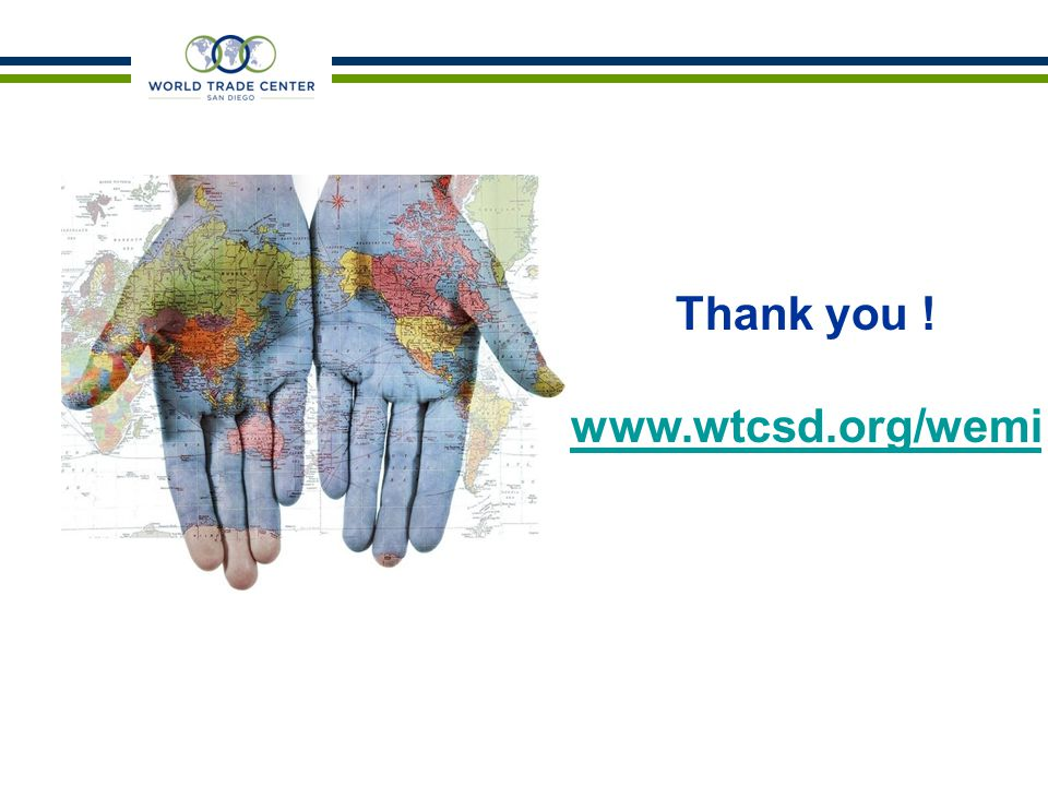 Thank you ! www.wtcsd.org/wemi