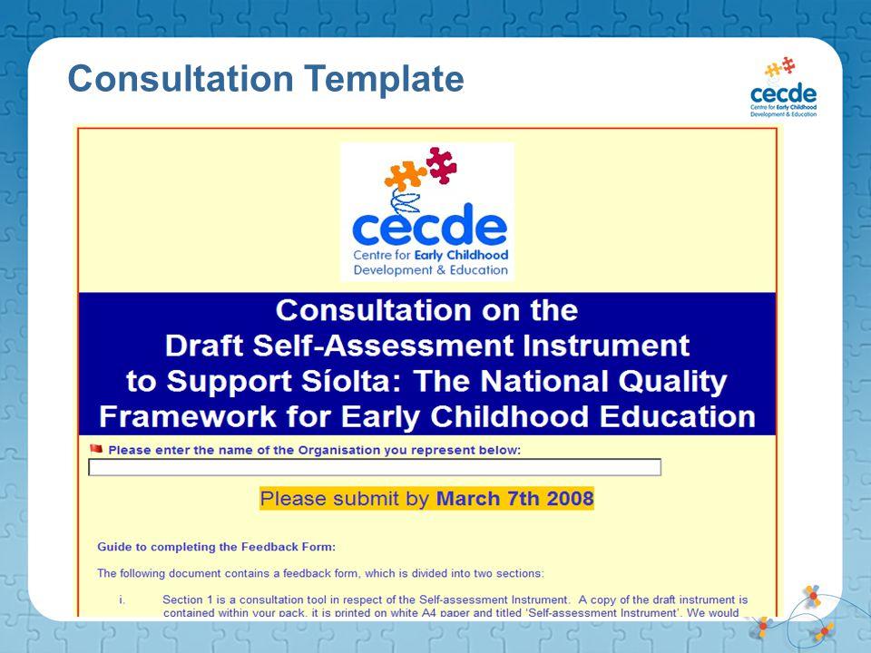 Consultation Template