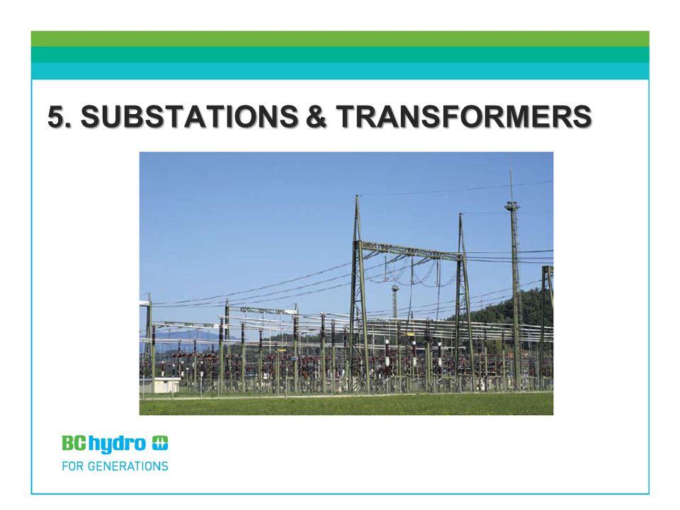 5. SUBSTATIONS & TRANSFORMERS