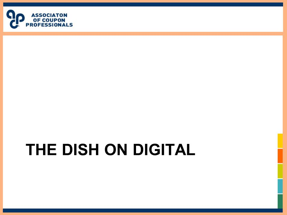 THE DISH ON DIGITAL