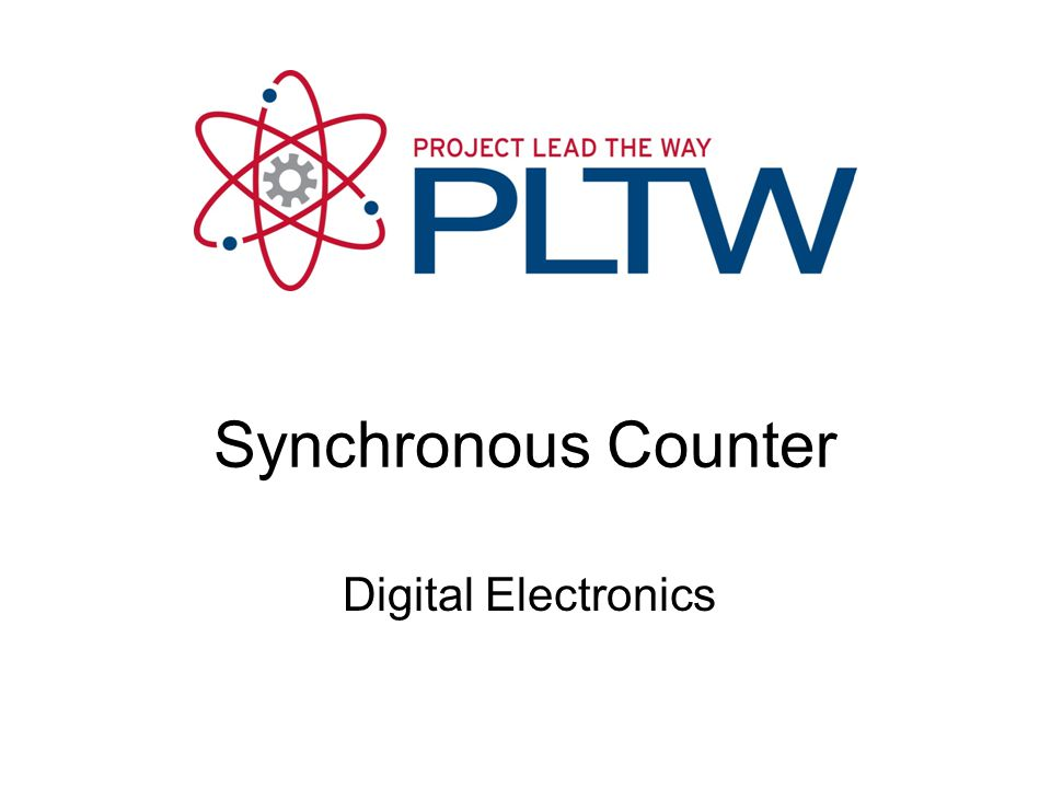 Digital Electronics Synchronous Counter