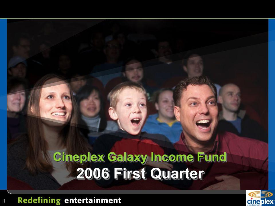1 Cineplex Galaxy Income Fund 2006 First Quarter