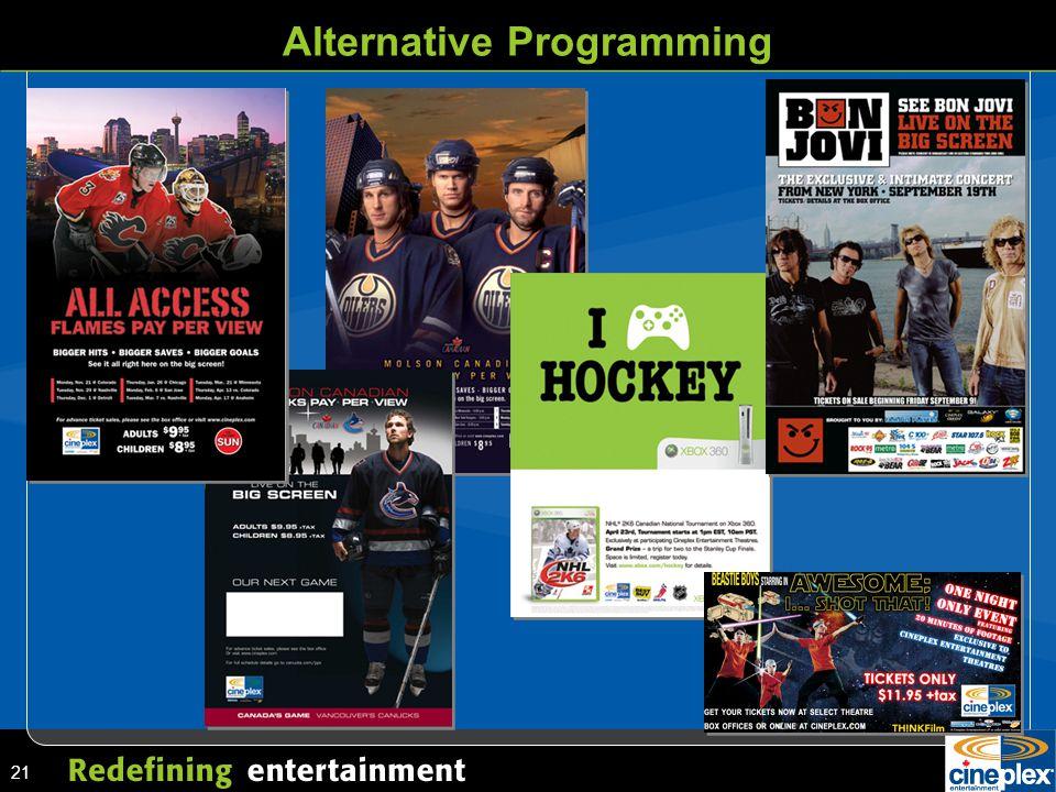 21 Alternative Programming