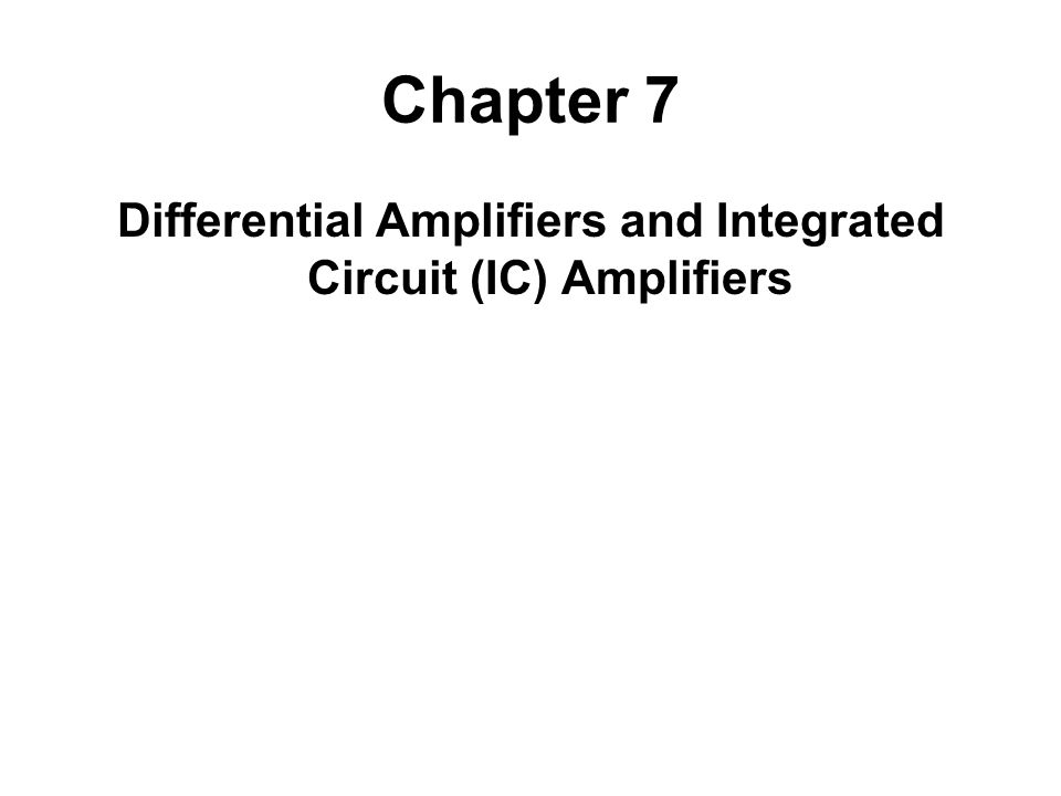 Discrete and Integrated Circuits A discrete circuit is constructed of components that are manufactured separately.