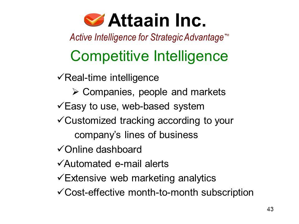 43 Attaain Inc.