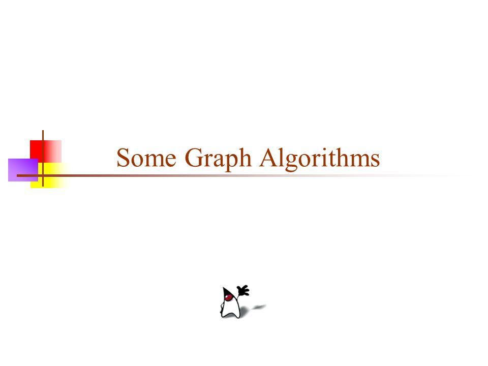Some Graph Algorithms