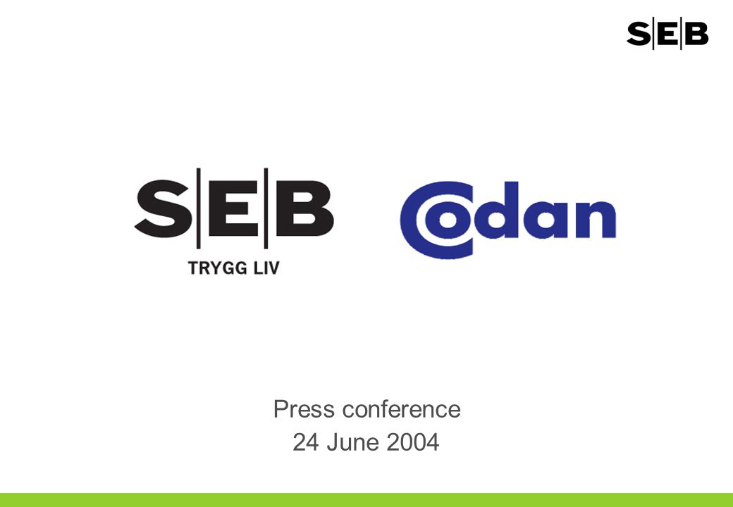 Press conference 24 June 2004