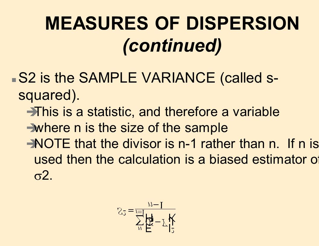n STANDARD DEVIATION a standard measure of the deviation of observations from the mean.