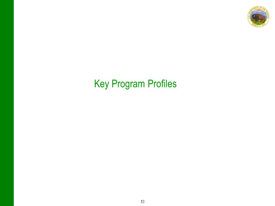 10 Key Program Profiles