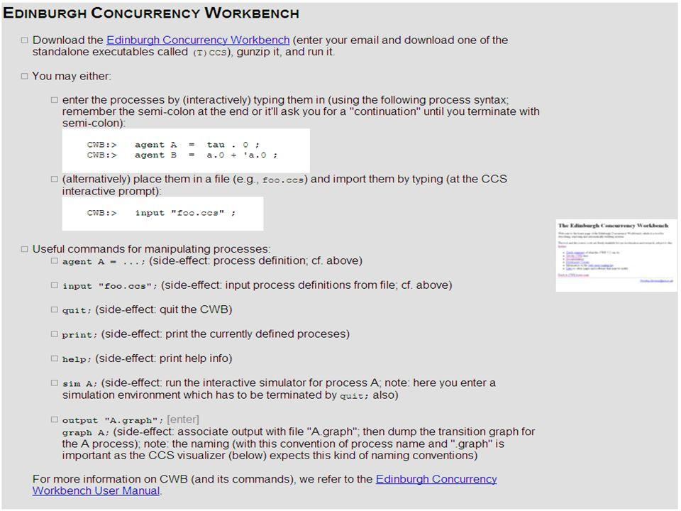 Marco CarboneCCS: Equivalences Apr 20, 2009