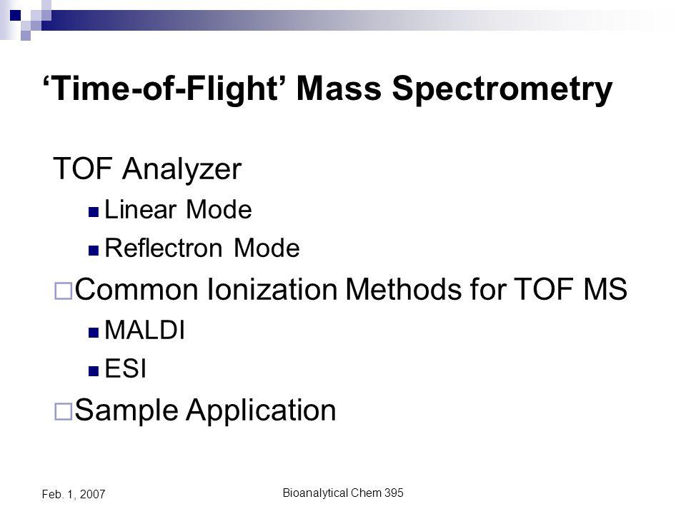 Bioanalytical Chem 395 Feb. 1, 2007 2003 SDI- Price vs. Resolution SDI MAP October 2003 Orbitrap