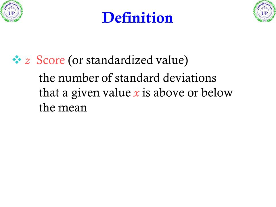 Sample Population Round z to 2 decimal places Measures of Position z score