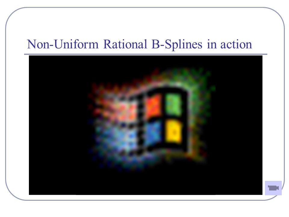 Non-Uniform Rational B-Splines in action