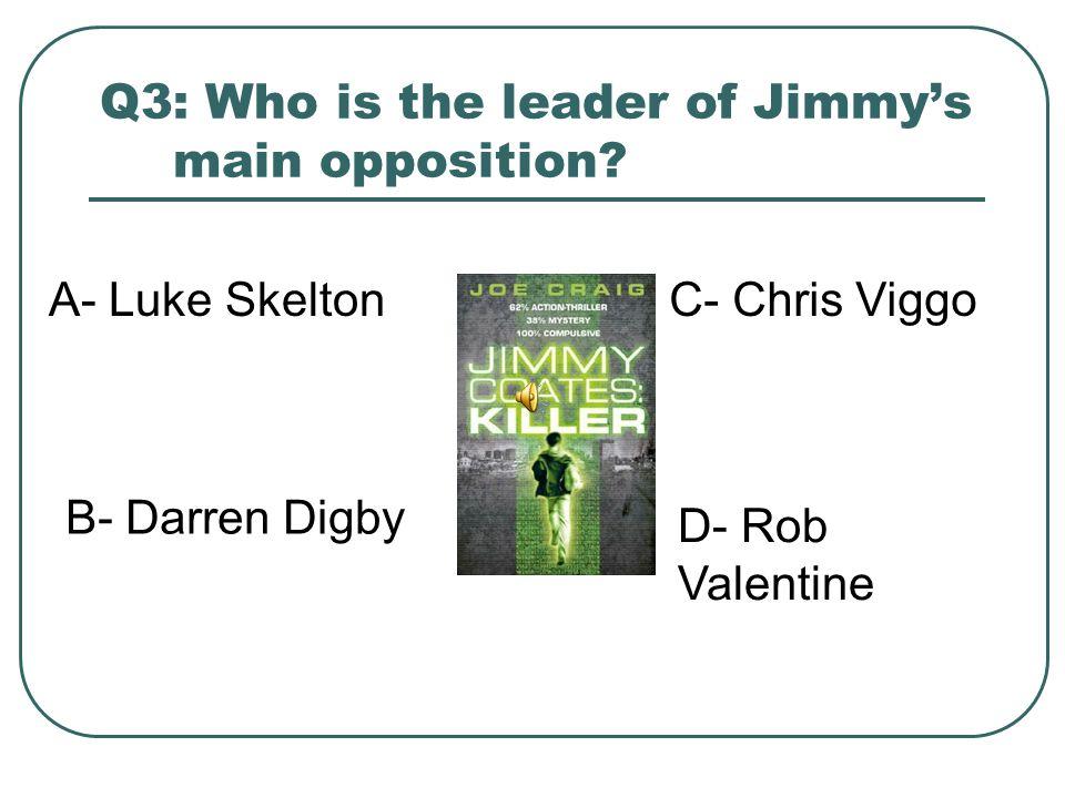 Q2: How many percent human is Jimmy? A- 50% B- 38% C- 0% D- 93%