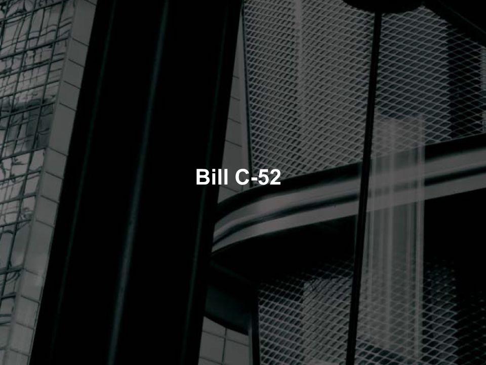Bill C-52