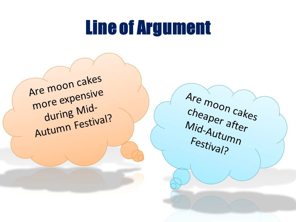 Own Standpoint Are moon cakes more expensive during Mid- Autumn Festival.