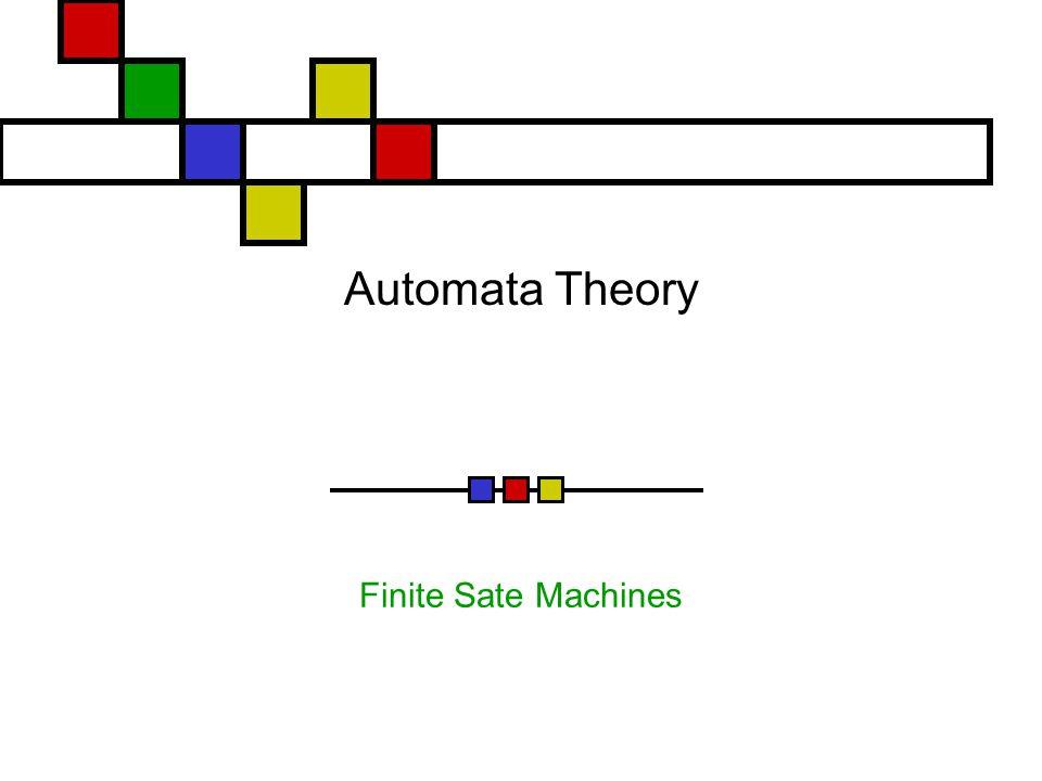 Automata Theory Finite Sate Machines