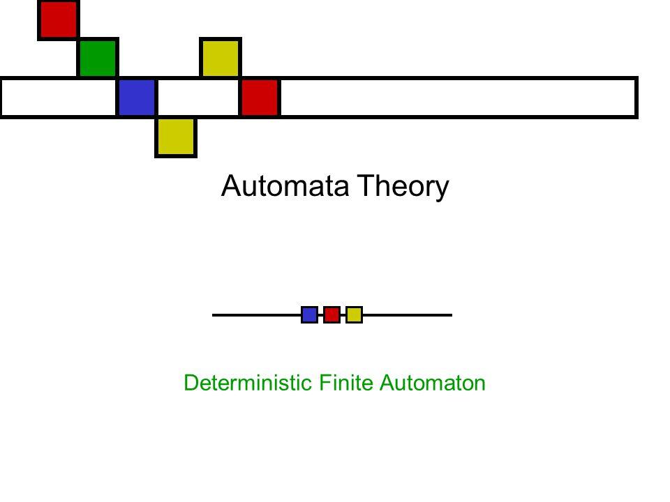 Automata Theory Deterministic Finite Automaton