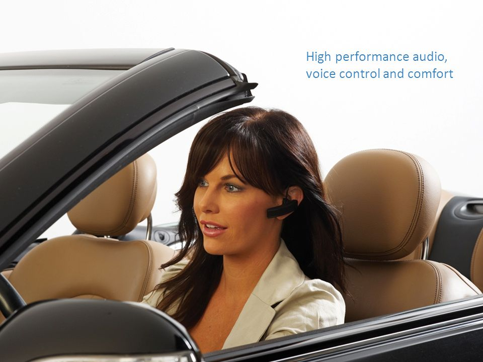 High performance audio, voice control and comfort