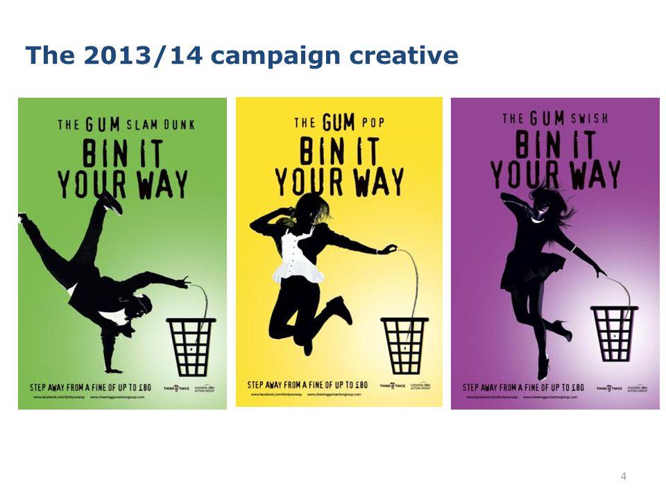 The 2013/14 campaign creative 4