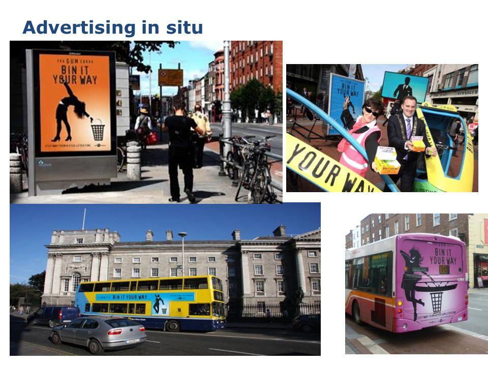 6 Advertising in situ