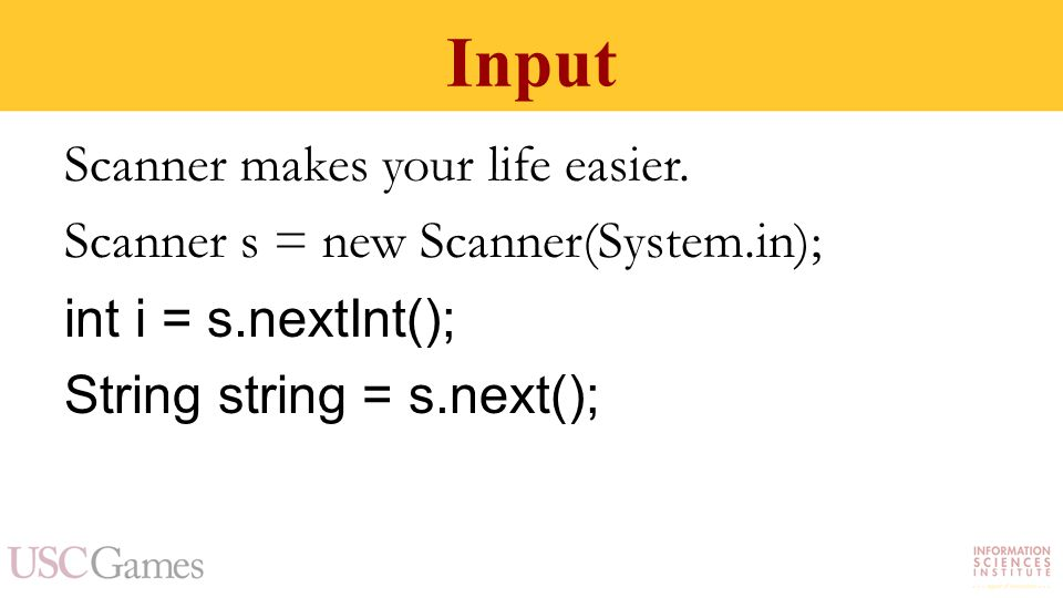Input Scanner makes your life easier.