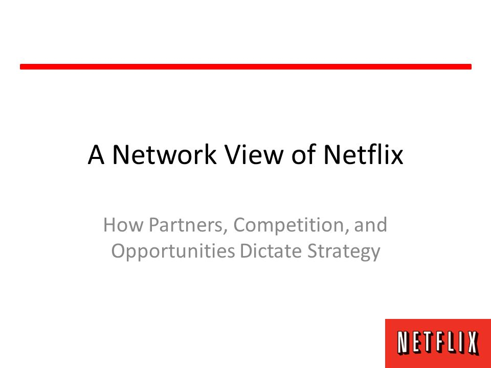 Looking Forward Netflix will continue to build up its streaming library, maintaining a DVD selection that will eventually be slowly phased out.