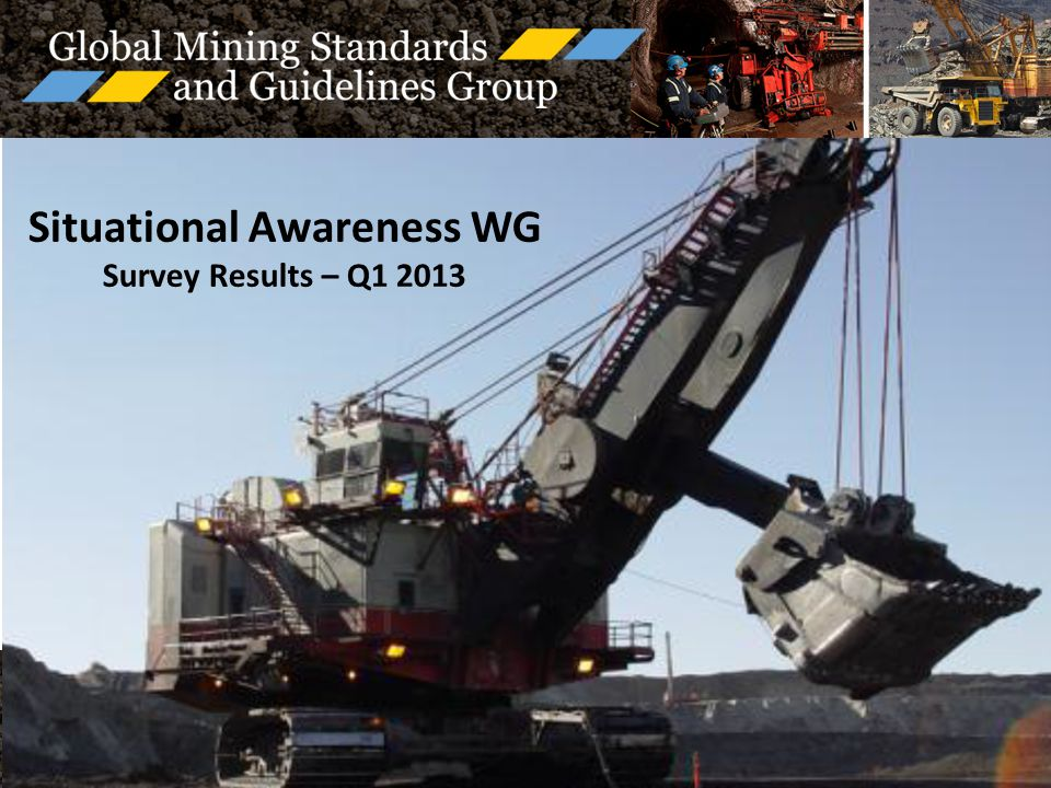 Situational Awareness WG Survey Results – Q1 2013