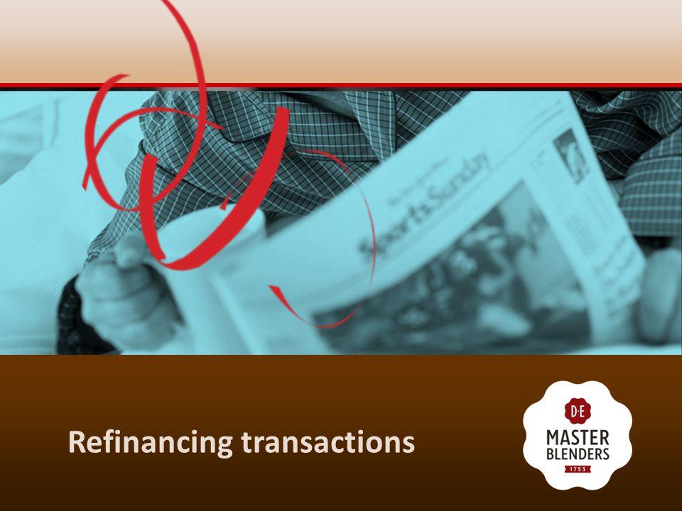 Refinancing transactions