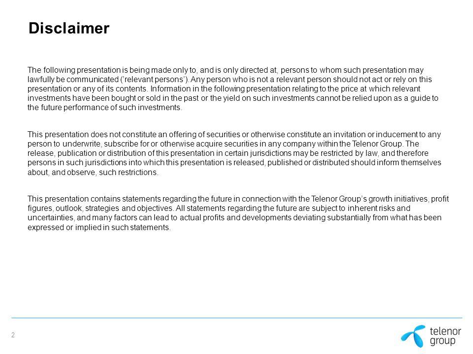 Telenor Group VimpelCom Ltd.