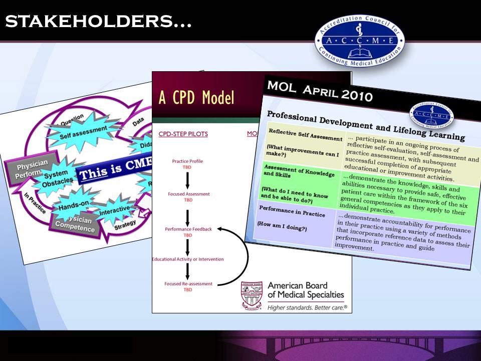 stakeholders…