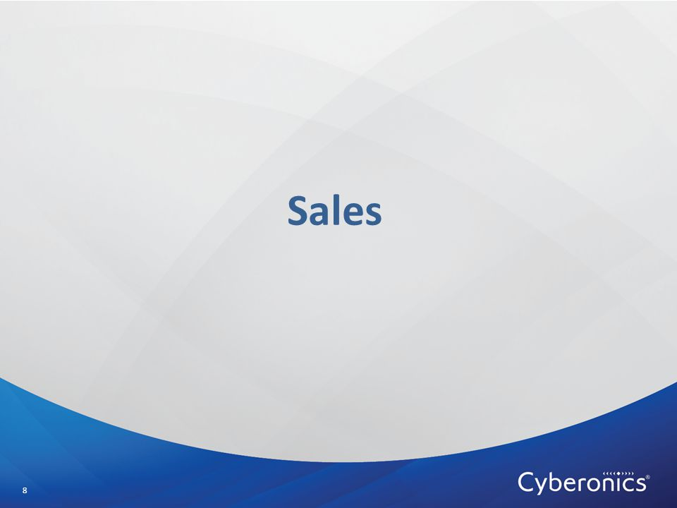 Sales 8