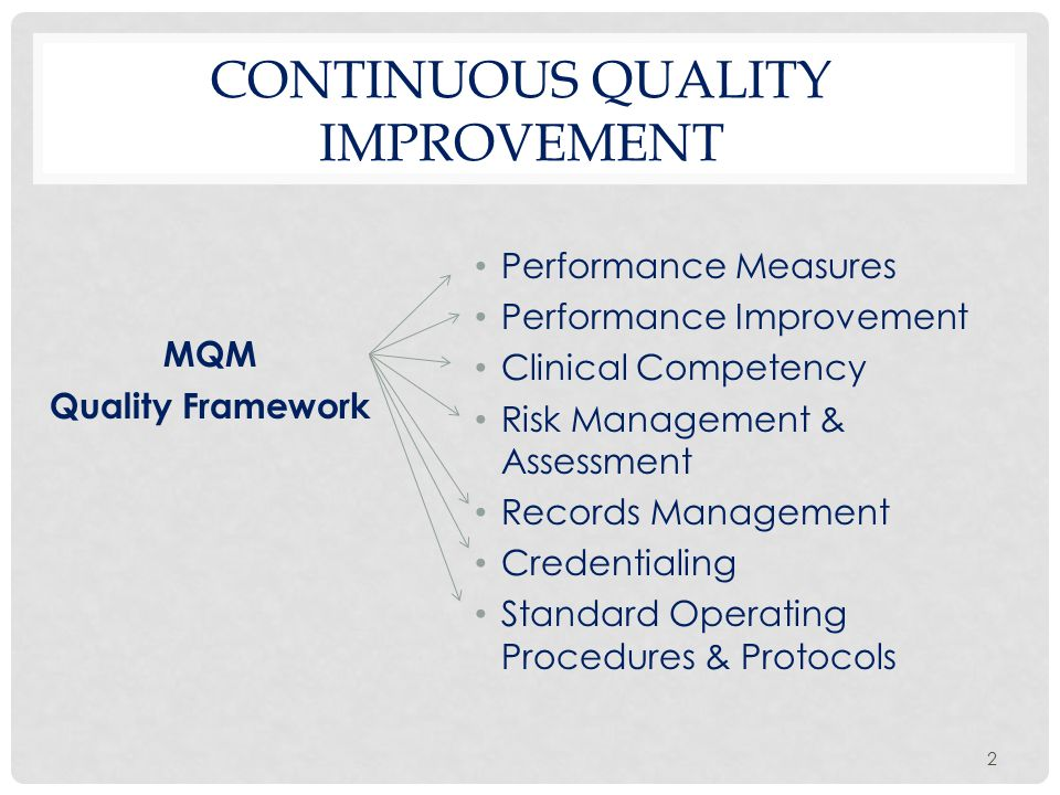 3 DHS MQM STRATEGIC PLAN IMPLEMENTATION Strategic VisionMission PrioritiesGoalsObjectives Performance Improvement Activities Quality MeasuresData