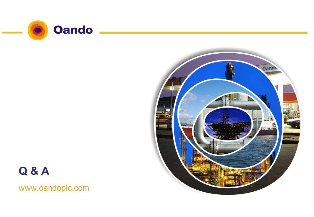 12 www.oandoplc.com Q & A