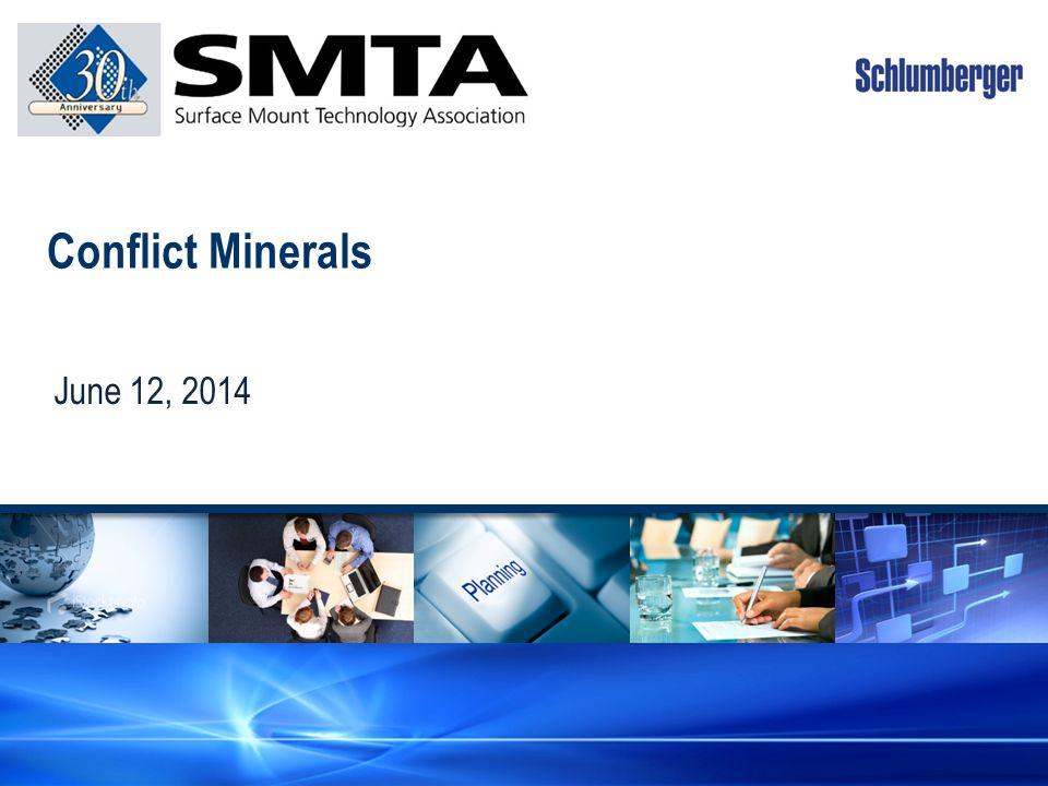 Conflict Minerals June 12, 2014