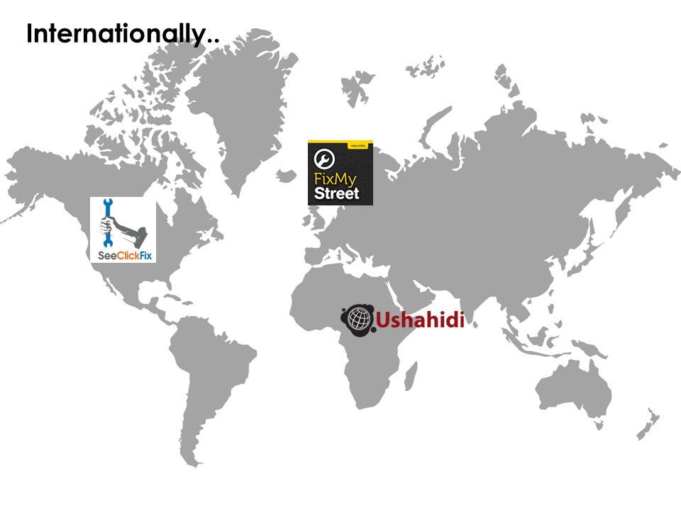 Internationally..